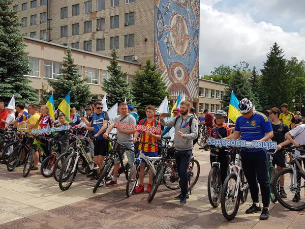 У Кропивницькому кілька сотень велосипедистів проїхалися містом (ФОТО)