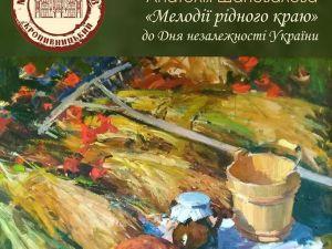 У Кропивницькому представлять  виставку художника Анатолія Шаповалова
