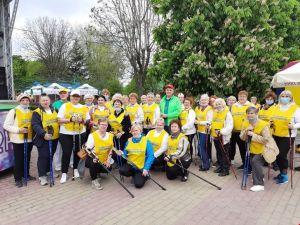 """""""Файна хода"""": у Кропивницькому відзначили Міжнародний день скандинавської ходьби"""