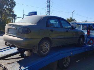 Кропивницький: На виїзді з міста патрульні зупинили авто, яке перебуває у розшуку