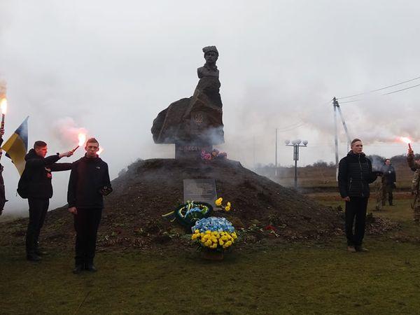 Кропивничани вшанували пам'ять отамана Пестушка у селі Ганнівці (ФОТО)