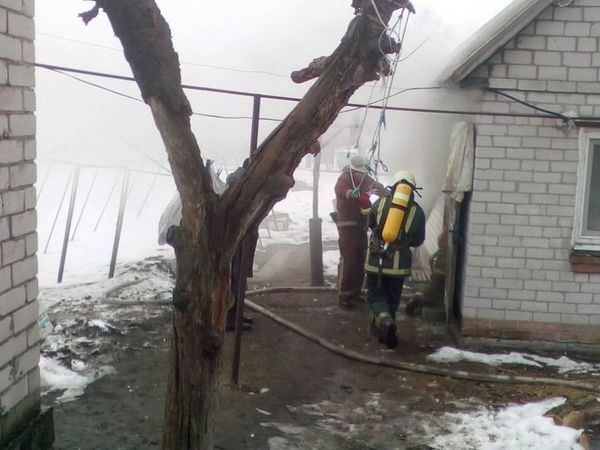 На Кіровоградщині через замикання пральної машини сталася пожежа