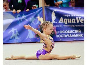 Юна кропивницька гімнастка виборола срібло у турнірі «Діамант – 2018»