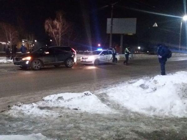 Кропивницький: У центрі міста зіткнулися дві автівки