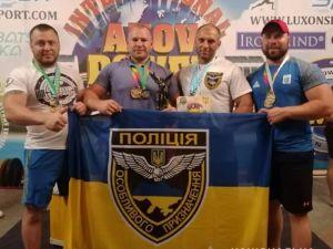 Поліцейські з Кіровоградщини здобули перемогу на турнірі силових видів спорту