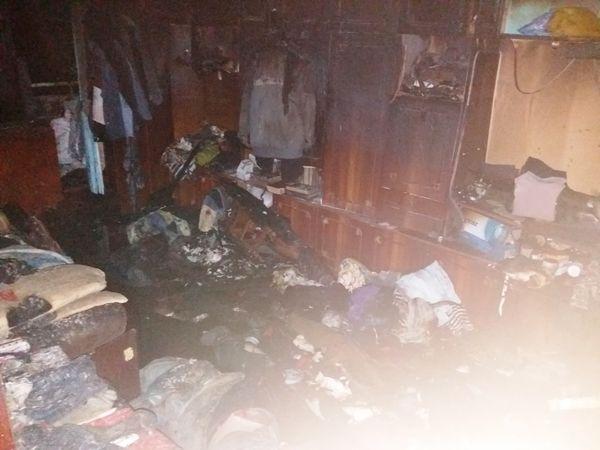 У селищі Новому під час пожежі загинула 55-річна жінка