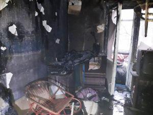 У селищі Новому під час пожежі загинув дідусь