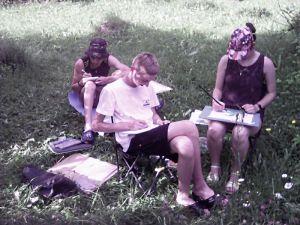 У Кропивницькому молоді художники представили пейзажі, написані на Івано-Франківщині