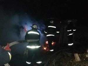 У Долинській під час пожежі загинув 30-річний мужчина