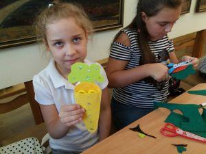 У кропивницькому худмузеї навчали діток робити пенали з фетру (ФОТО)