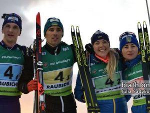 Українська команда виборола золото на чемпіонаті Європи з біатлону