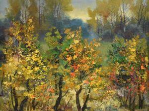 Яку картину передав кропивницький художник на Великодній благодійний аукціон?