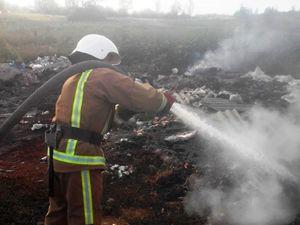 На Кіровоградщині вогнеборці ліквідували 8 пожеж