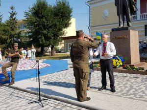 Кого нагородили на День Незалежності у Кропивницькому (ФОТО, ВІДЕО)