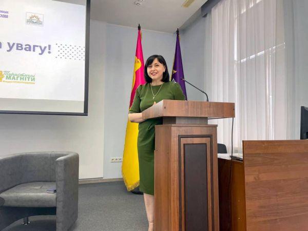 Марія Чорна анонсувала створення чат-боту туристичної Кіровоградщини