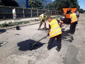 У Кропивницькому відновлюватимуть асфальтне покриття, яке змив сильний дощ