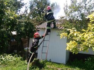 На Кіровоградщині сталося дев'ять пожеж