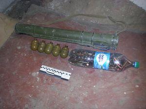 У Кіровоградському районі СБУ знайшла сховище зі зброєю та боєприпасами