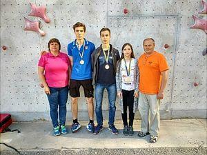 Кропивницькі скелелази стали призерами Чемпіонату України