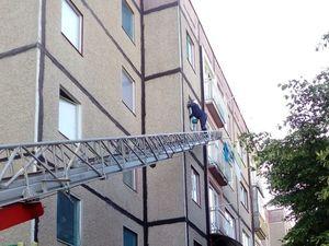 На Кіровоградщині дворічний малюк зачинився у квартирі