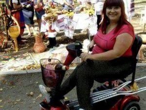 У кропивничанки вкрали інвалідний скутер. Допоможіть знайти