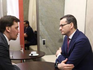 Олексій Гончарук запросив Прем'єр-міністра Польщі в Україну