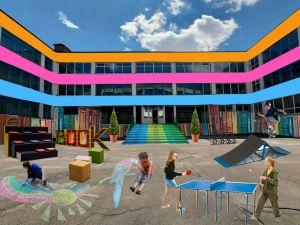 На селищі Новому може з'явитися затишне шкільне подвір'я
