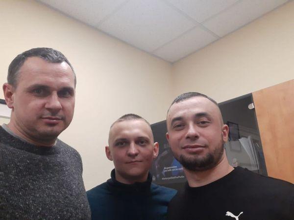 Кропивницький: Місто зустрічає спецпризначенців Глонара і Корінькова