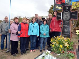 Кіровоградщина: Націоналісти вшанували пам'ять полеглого побратима Віктора Голого (ФОТО, ВІДЕО)
