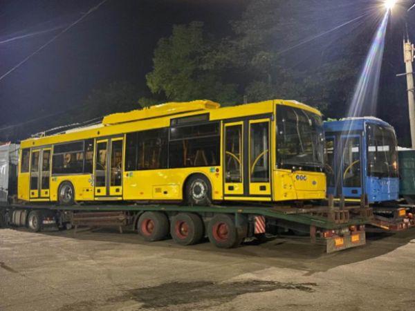 До Кропивницького прибувають нові тролейбуси