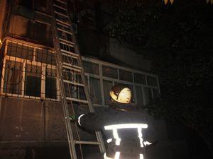 У Кропивницькому загорілись речі на балконі дев'ятиповерхівки