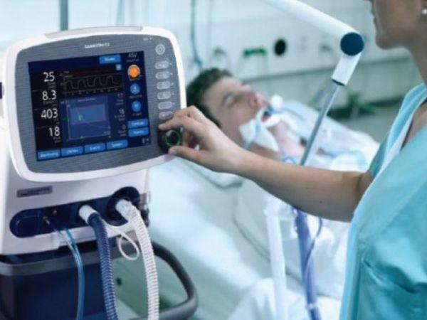 До апаратів штучної вентиляції легень підключено 18 тяжкохворих