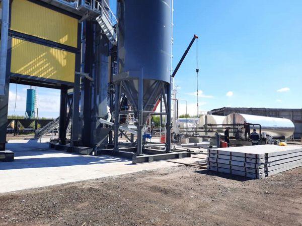 У Кропивницькому починає працювати новий асфальтний завод (ФОТО)