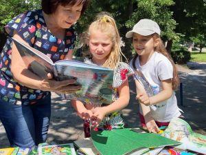 Кропивницький: Як бібліотекарі заохочують дітей читати книжки?