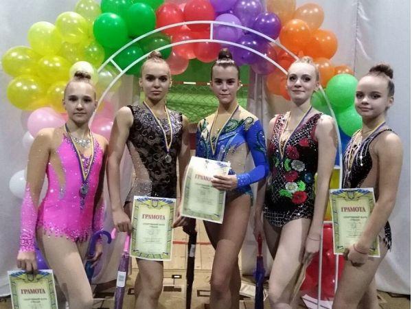 Юні гімнастки із Кропивницького вибороли медалі на Міжнародному турнірі