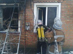 На Кіровоградщині під час пожежі у приватному будинку загинув сорокарічний чоловік