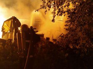На Кіровоградщині горіли приміщення, трактори і суха трава