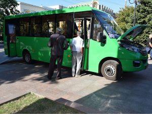 У Кропивницькому презентували новий автобус «Рута» (ФОТО)