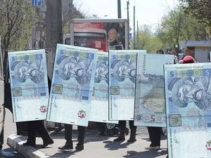 Маршрутки вже п'ять гривень, тролейбуси ще не 3,50