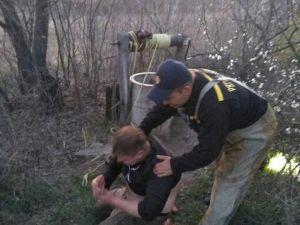 На Кіровоградщині молодий чоловік потрапив до колодязя