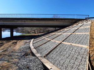 На Новоархангелщині триває ремонт мосту через Синюху