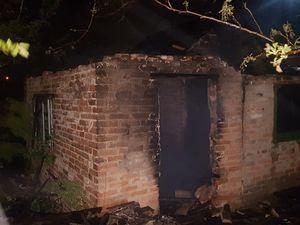 Кропивницький: На дачах Пісецького загорівся будиночок (ФОТО)