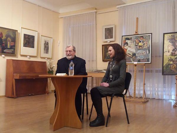 Кропивничани зустрілися з художником Михайлом Надєждіним (ФОТО)