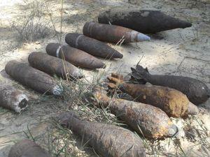 Сапери у Кіровоградській області знищили 30 снарядів часів Другої світової