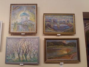 У Кропивницькому вшанували пам'ять художника Леоніда Бондаря виставкою його творів (ФОТО)