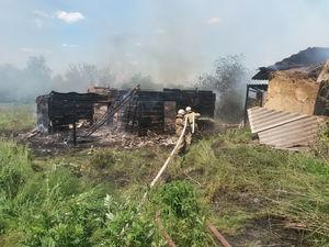 Рятувальники Кіровоградщини здолали дві пожежі в житловому секторі