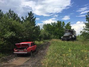 На дорогах Кіровоградщині застряють автівки