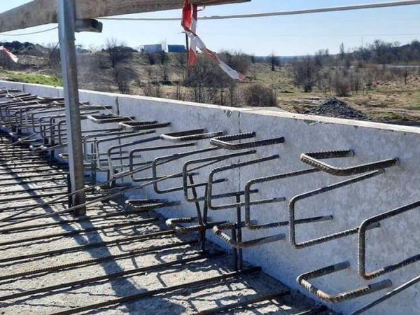 Кіровоградщина: Триває ремонт мосту через Синюху ФОТО)