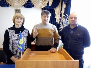 На Кіровоградщині новообрані депутати ОТГ зустрілися з виборцями