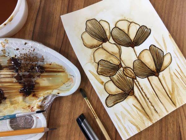 Кропивницький: У Гончаренко центр навчали малювати кавою (ФОТО)